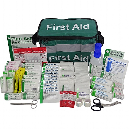 British Standard Compliant School First Aid Haversack
