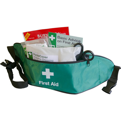 Motorcycle First Aid Kit in Bum Bag