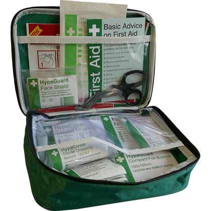 Car and Taxi First Aid Kit in Pouch