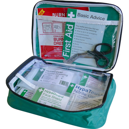 Motorcycle First Aid Kit in Pouch