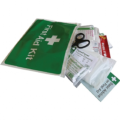 Value Travel and Motoring First Aid Kit - Pack of 10