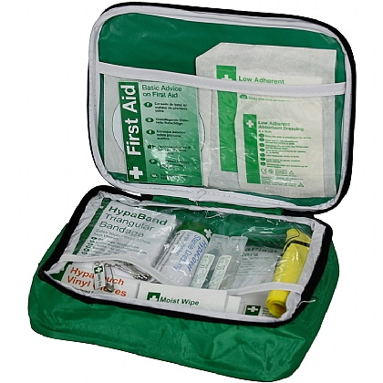 Vehicle First Aid Kit in Nylon Case