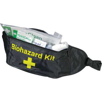 Body Fluid Disposal Bum Bag Kit (1 Application)