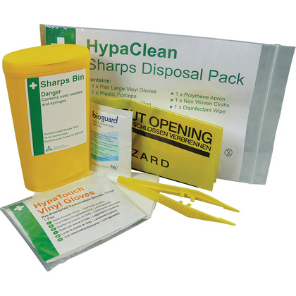Sharps Disposal Pack (1 Application)