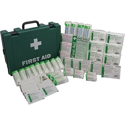 HSE 21-50 Person Workplace First Aid Kit, Large