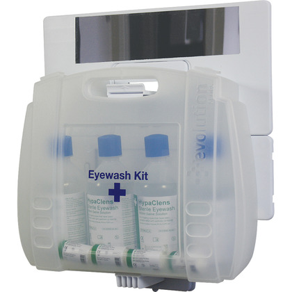 HypaClens Evolution Plus 4x500ml Eyewash Kit with Mirror