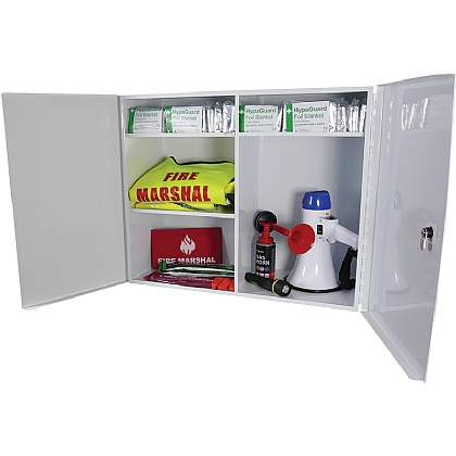Double Door & Full Depth Fire Safety Cabinet