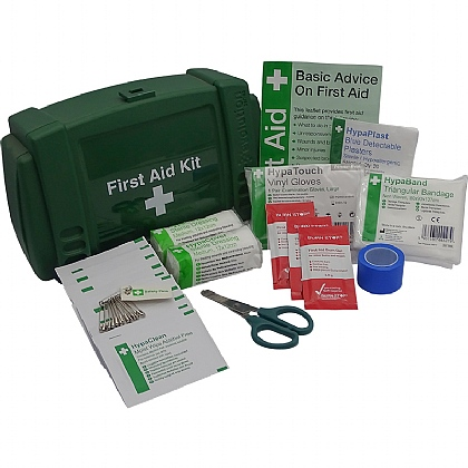 Bar/Kiosk Catering First Aid Kit, Green Case