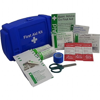 Bar/Kiosk Catering First Aid Kit, Blue