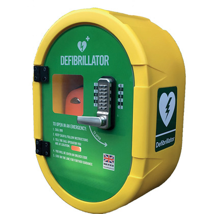 DefibSafe Outdoor AED Cabinet
