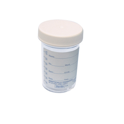 Specimen Pot (Single) 70ml