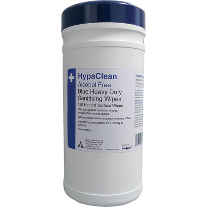 HypaClean Blue Heavy Duty Sanitising Wipes