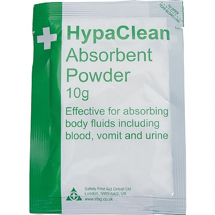 HypaClean Absorbent Powder 10g, Pack of 20