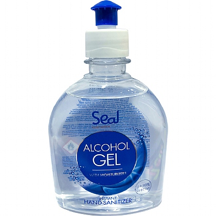 SEAL Alcohol Hand Sanitiser Gel, 300ml, 70% (Pack of 19)