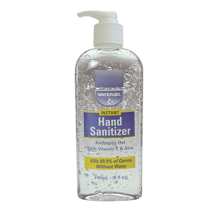 Water-Jel Hand Sanitiser Bottle, 240ml