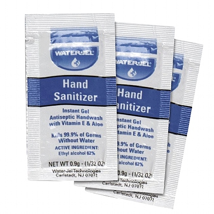 Water-Jel Hand Sanitiser Sachet bag of 100