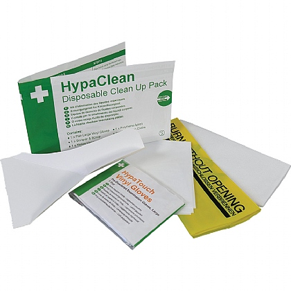 HypaClean Disposable Clean Up Pack X10
