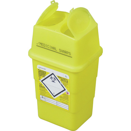 Sharps Disposal Box (1 Litre)