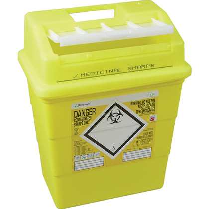 Sharps Disposal Box 13 Litre