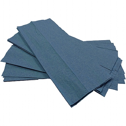 1 Ply Blue Towels, 2944 Sheets (Case of 16 Packs)