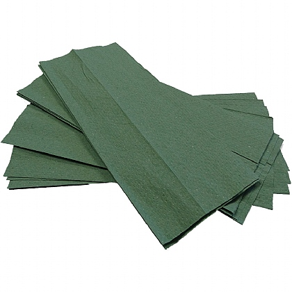 1 Ply Green Towels, 2944 Sheets (Case of 16 Packs)