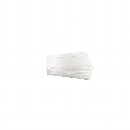 2 Ply White Towels, 2400 Sheets (Case of 16 Packs)