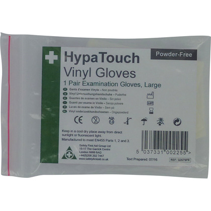 HypaTouch Vinyl Gloves (6 Pairs)