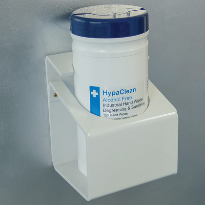Wall Mounting Bracket for Drum Wipes, Large Bracket
