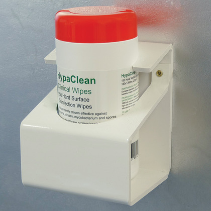 Wall Mounting Bracket for Drum Wipes, Small Bracket