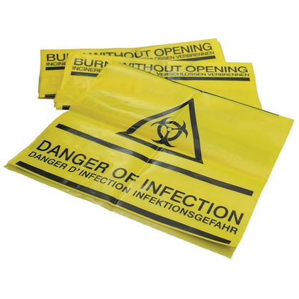 Clinical Waste Self Seal Bags (50)
