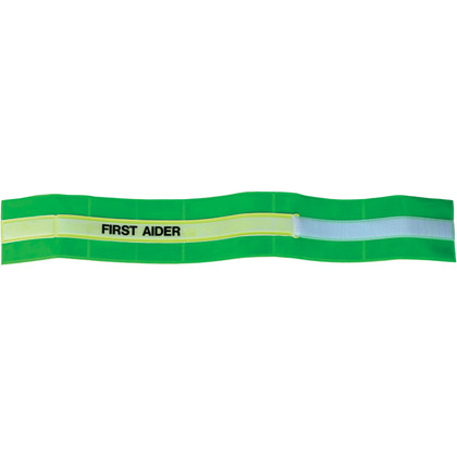 Hi-Vis First Aider Armband