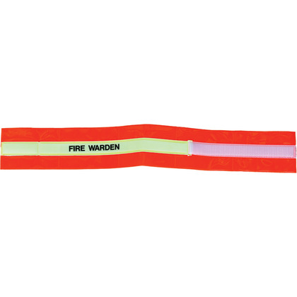 Fire Hi-Visibility Armband, Fire Warden