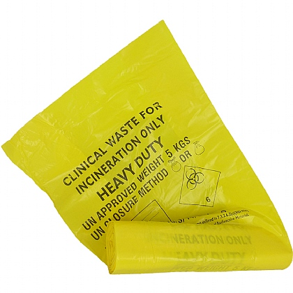 Biohazard Bin Liner (Roll of 25)