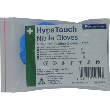 HypaTouch Nitrile Gloves (6 pairs)