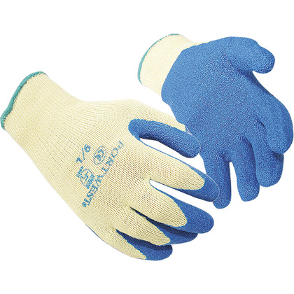 Select Anti Cut Latex Grip Gloves, Large