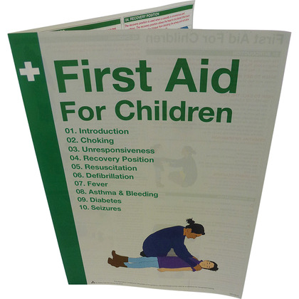 First Aid For Children and Diabetes, Asthma & Seizures Guide