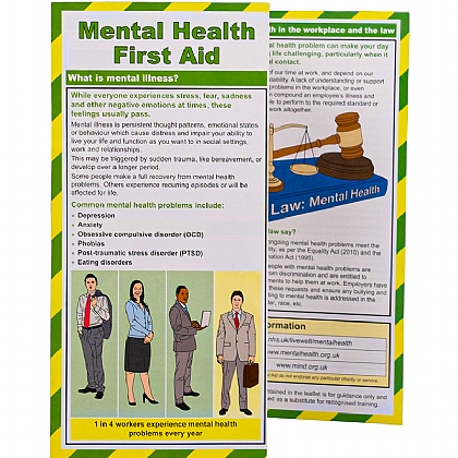 Mental Health First Aid Leaflet