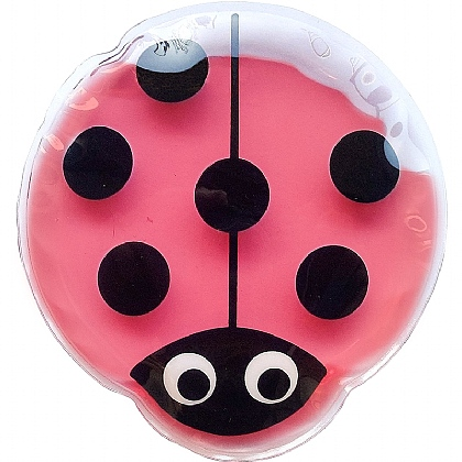 HypaGel Kids Re-Usable Hot/Cold Gel Pack, Ladybird