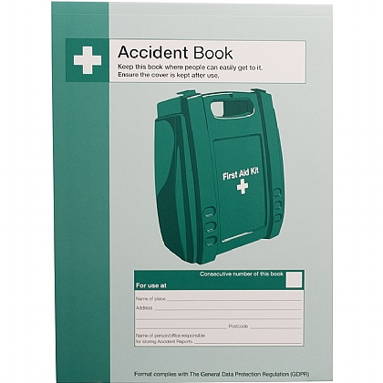 Accident Book, A4, Pack of 10
