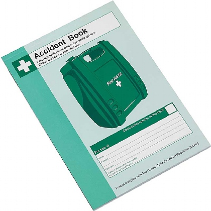 Accident Book, A5 (Pack of 10)