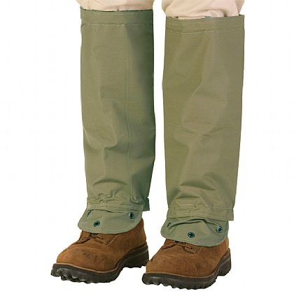 TurtleSkin SnakeArmour Gaiters - Reversible Khaki/Sage