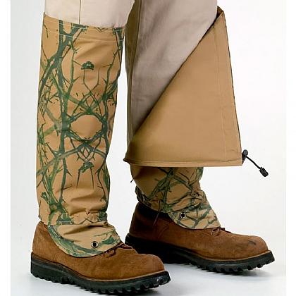 TurtleSkin SnakeArmour Gaiters - Reversible Camo/Sage