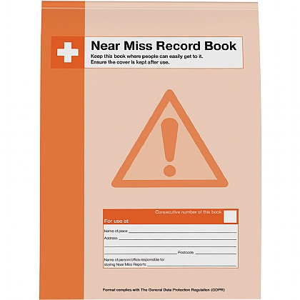Near Miss Record Book, A4