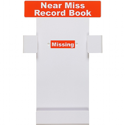 Near Miss Record Book Station (Empty)