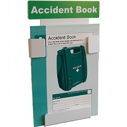 Accident Book Station with FREE A4 Accident Book