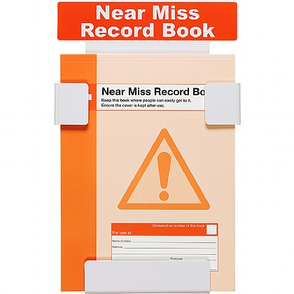 Near Miss Record Book Station with FREE Record Book