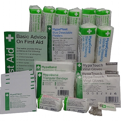 Catering First Aid Kit Refill 1-10 Persons