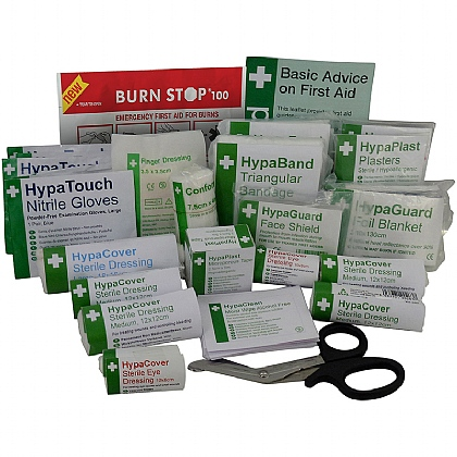 Workplace First Aid Kit Refill BS8599 (Small)