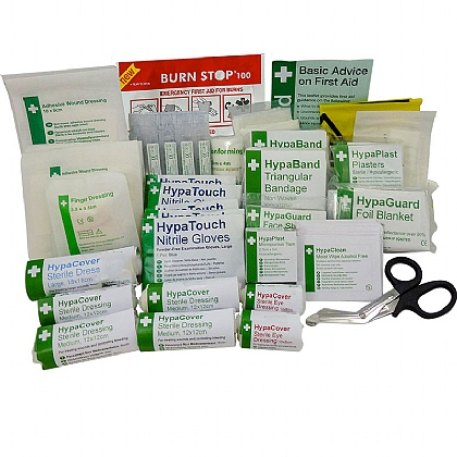 Industrial High-Risk First Aid Kit Refill BS8599 (Large)