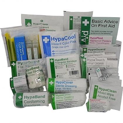 Compact Sports First Aid Kit Refill